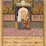 The marriage of Yusuf and Zulaykha (from Jami, Yusuf u Zulaykha, 1595)